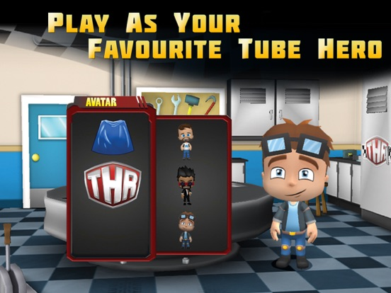 Screenshot #3 for Tube Heroes Racers