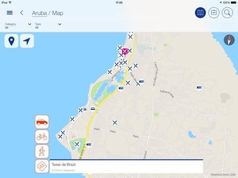 Visit Aruba Guide On The App Store - Aruba map of us