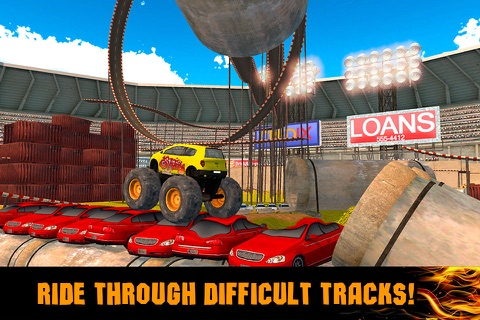 Extreme Monster Truck Stunt Racing 3D Full screenshot 2