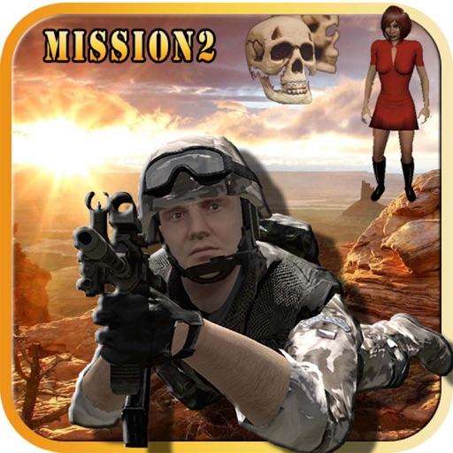 Commando Fantasy Horror Mission 2 : Desert iOS App