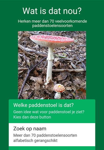 Paddenstoelen herkennen screenshot 1