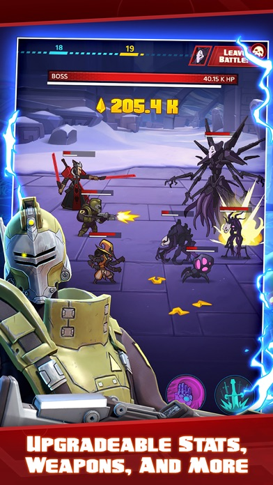 Battleborn® Tap Screenshot