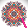 Adult Coloring Book - featuring Mandalas, butterflies and animals