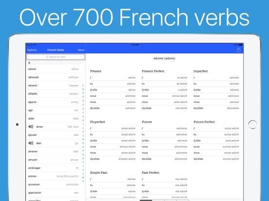 French Verb Conjugator Pro Screenshots