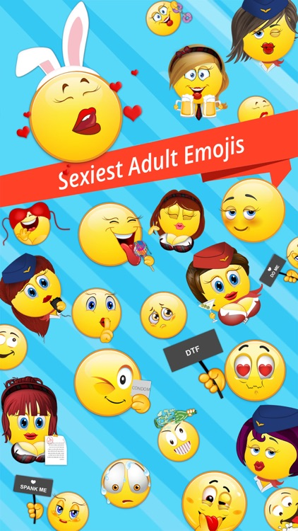 FlirtyCon - Adult Emoji Emoticons Stickers & Icons For Flirty Sexy Adult  Text Messages (18