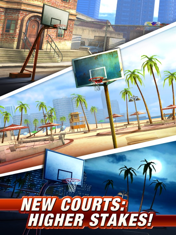 Screenshots of Basketball Stars™ for iPad
