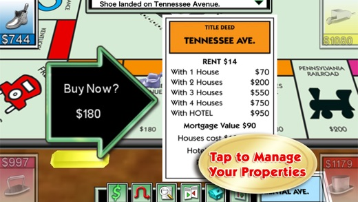 MONOPOLY Game Screenshots
