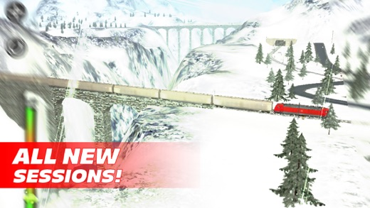 Train Driver Journey 8 - Winter in the Alps Screenshot