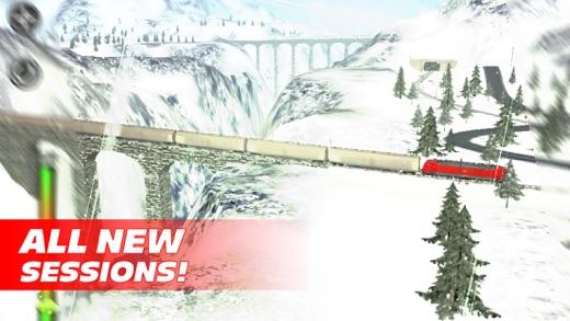 Train Driver Journey 8 - Winter in the Alps Screenshot