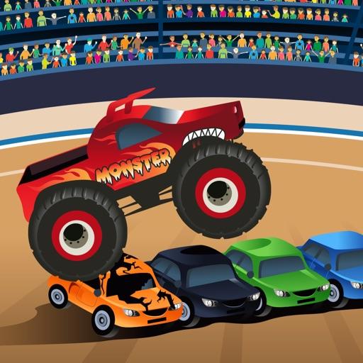monster truck game for kids toddlers by chris razmovski. Black Bedroom Furniture Sets. Home Design Ideas
