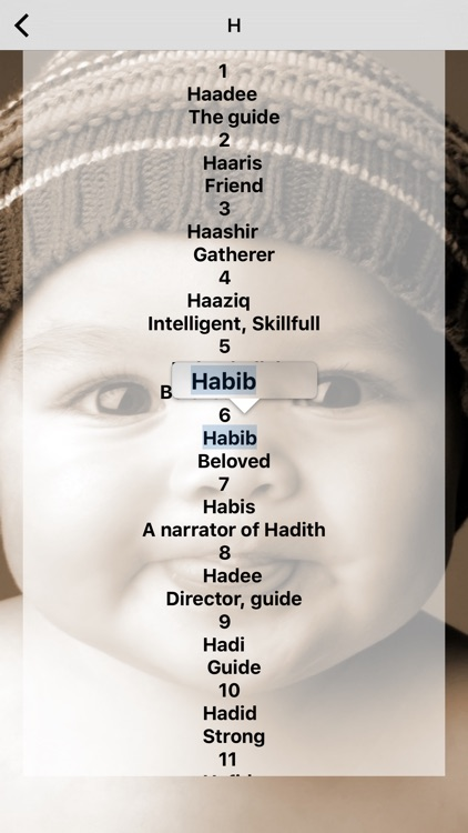Baby Boy Names : Muslim boy names- with islamic Meaning! by Jamil Metibaa  (iOS, United States) - SearchMan App Data & Information