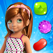 Candy Girl Mania - Match and Pop the gummy jewels HD