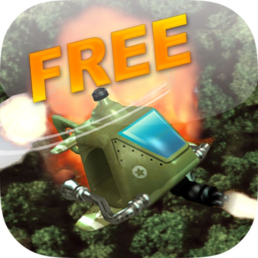 Helicopter Jungle Flight Mission Free iOS App