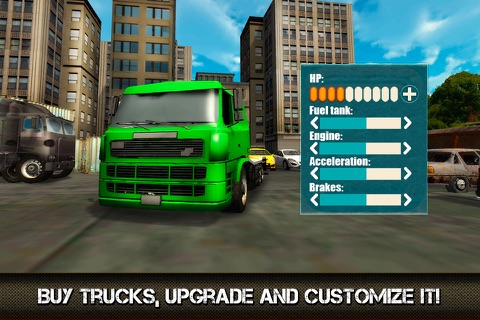 Great American Cargo Trucks: Driving Sim 3D Full screenshot 3