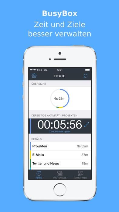 BusyBox - Zeit und Ziele besser verwalten Screenshot