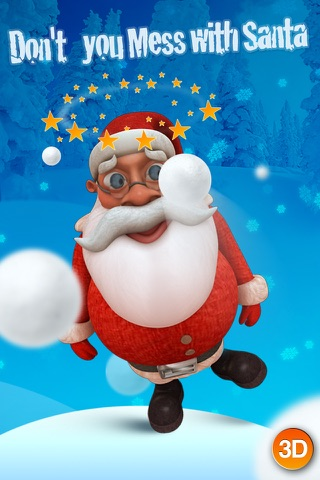 HO HO HO - Talking Santa 3D screenshot 2