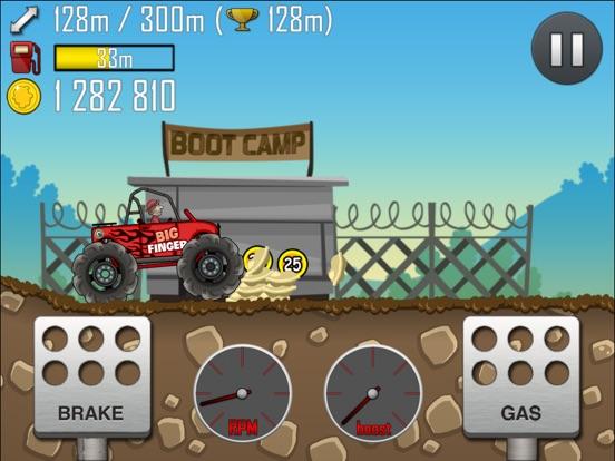 Скачать игру Hill Climb Racing