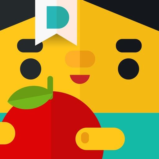 Sharing with Duckie Deck——面向学前儿童和幼儿的六合一教育类游戏。与您的孩子一起学习生活技巧、画动物、装饰蛋糕、画画、分享玩具、搭配礼物、破解谜题和微笑!