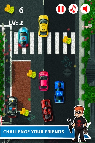 Bank Robbery Driver Getaway screenshot 2