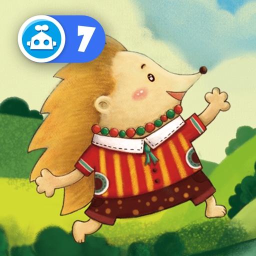 小刺猬的项链-铁皮人出品-猪小弟学数学系列故事-儿童绘本幼儿游戏