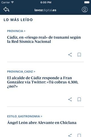 La Voz Digital de Cádiz screenshot 4