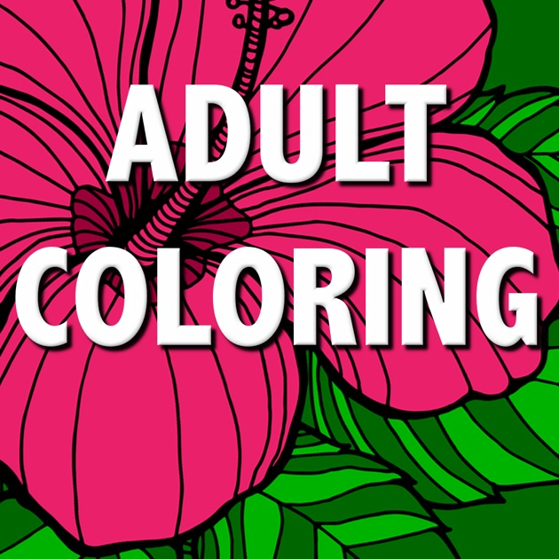 Floral Coloring Book For Adults Best Free Adult Therapy Pages