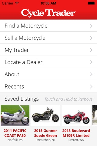 Cycle Trader screenshot 1