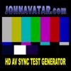 HD AV SYNC TEST & CAMERA CHIP CHART GENERATOR