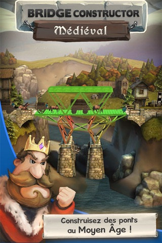 Bridge Constructor Medieval screenshot 1