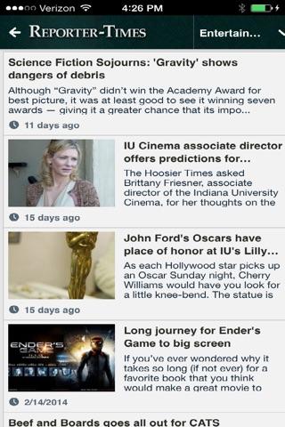 Reporter Times News screenshot 4