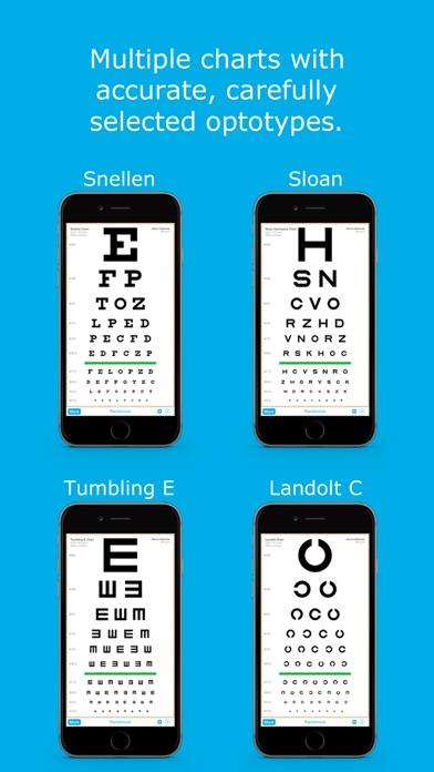 download Eye Chart HD - Examen de la Vista para los Oftalmólogos y Optometristas (Snellen, Visión de Cerca, y Más) apps 1
