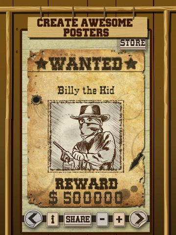 make a wanted posters