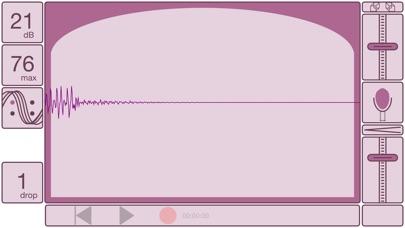 Visual Microphone screenshot one