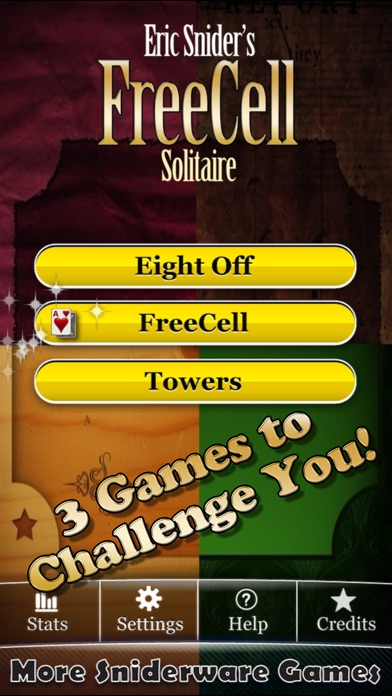Eric's FreeCell Solitaire Pack Screenshots