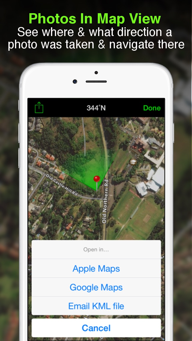 download Solocator - GPS Field Camera to stamp photos with location, direction, altitude, date, time + optional editable notes apps 2