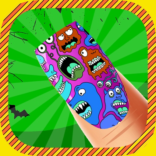 Zombie Monster Nail Dress up Salon Games for Girls and kid Free 2014 iOS App
