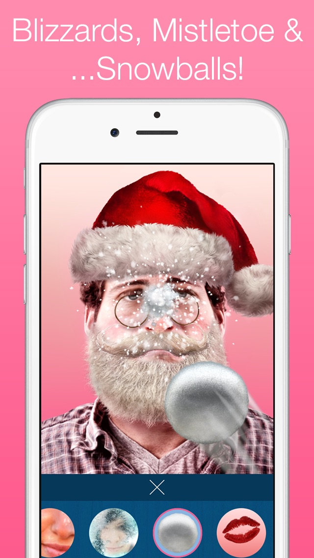 Santify - Make yourself into Santa, Rudolph, Scrooge, St Nick, Mrs. Claus or a Christmas ElfScreenshot of 3