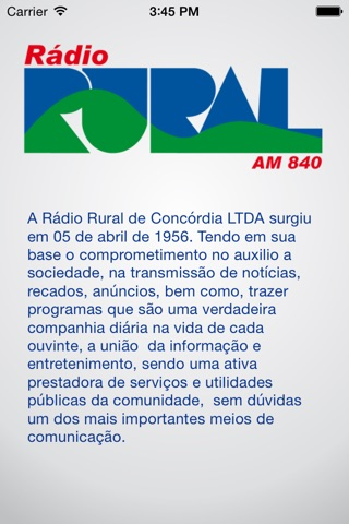 Rural AM 840 screenshot 3