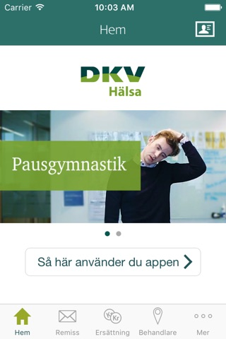 DKV Hälsa screenshot 1