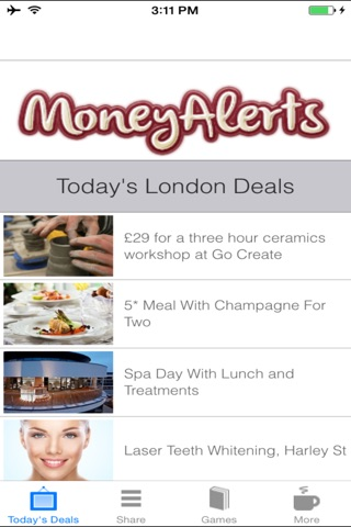London Deals, Offers & Coupons screenshot 1