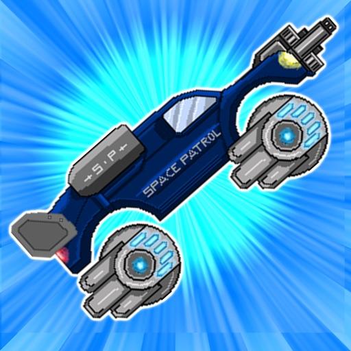 Retro Shooting Monster Truck In Space Racing Game Pro Full Version iOS App