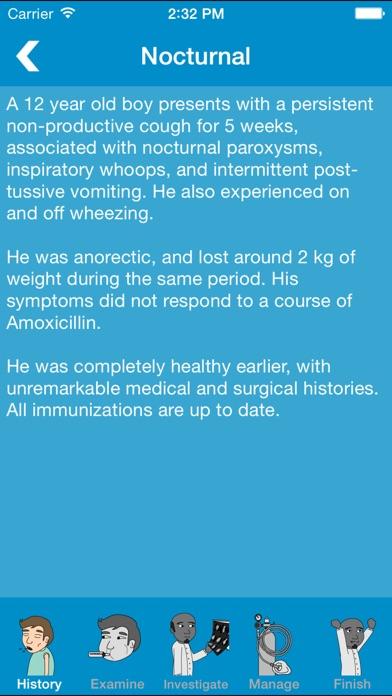 Screenshot #2 pour Prognosis : Respiratory