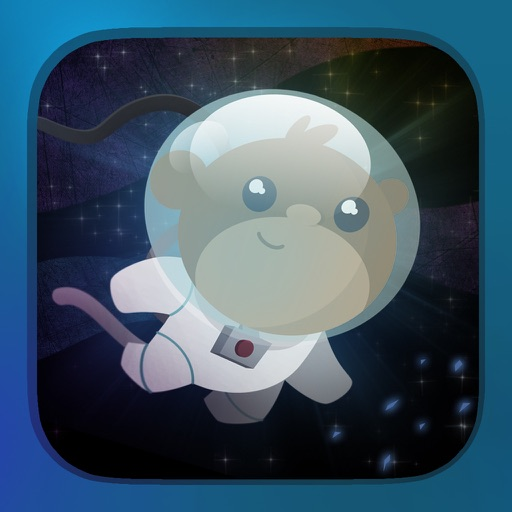 Space Rescue Starring BAM the Monkey iOS App
