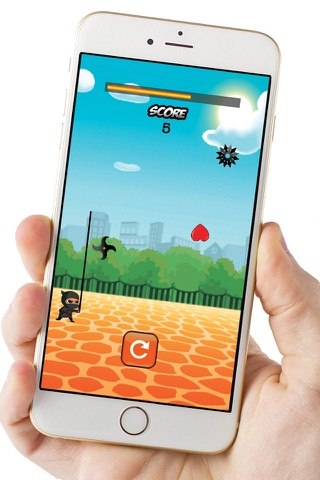 Ninja Hero! screenshot 1