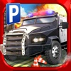 Police Car Parking Simulator Game - Real Life Emergency Driving Test Sim Racing Games
