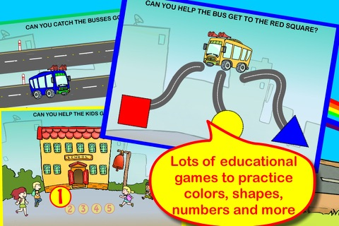 Wheels on the bus app screenshot 3