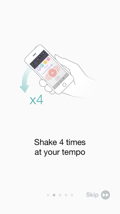 Cue - Shake Music Sequencer Screenshot