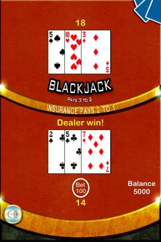 Blackjack 21 Casino - BlackJack Trainer screenshot 3