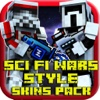 Sci-Fi Wars style skins 3D for Minecraft