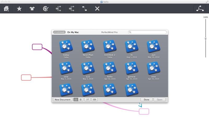 PerfectMind Pro思维导图工具 for Mac